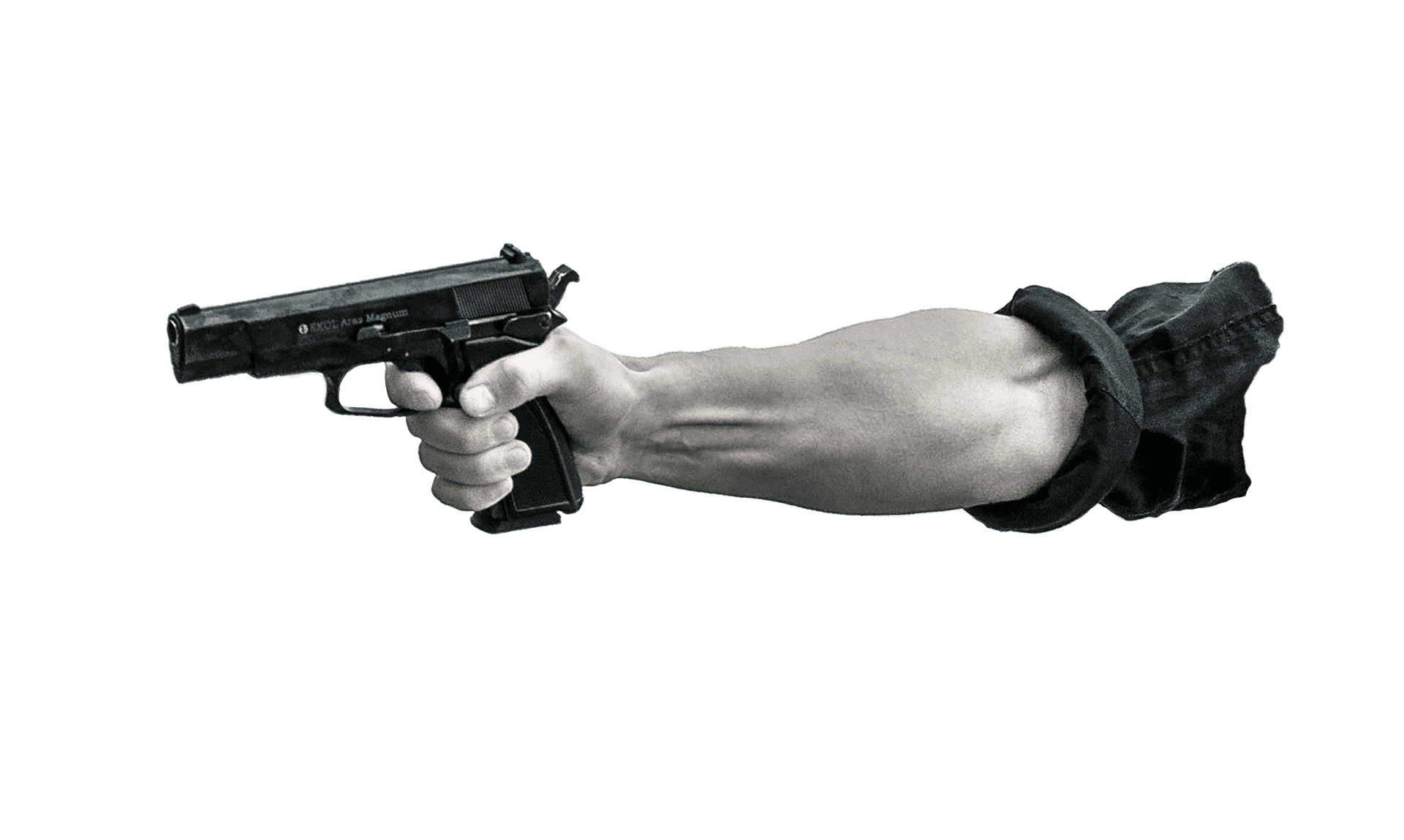 Picture showing a man pointing a gun | Source: Pixabay