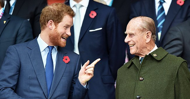 Prince Philip Sees Grandson Prince Harry's Decision to Leave the Royal Family as Abandonment