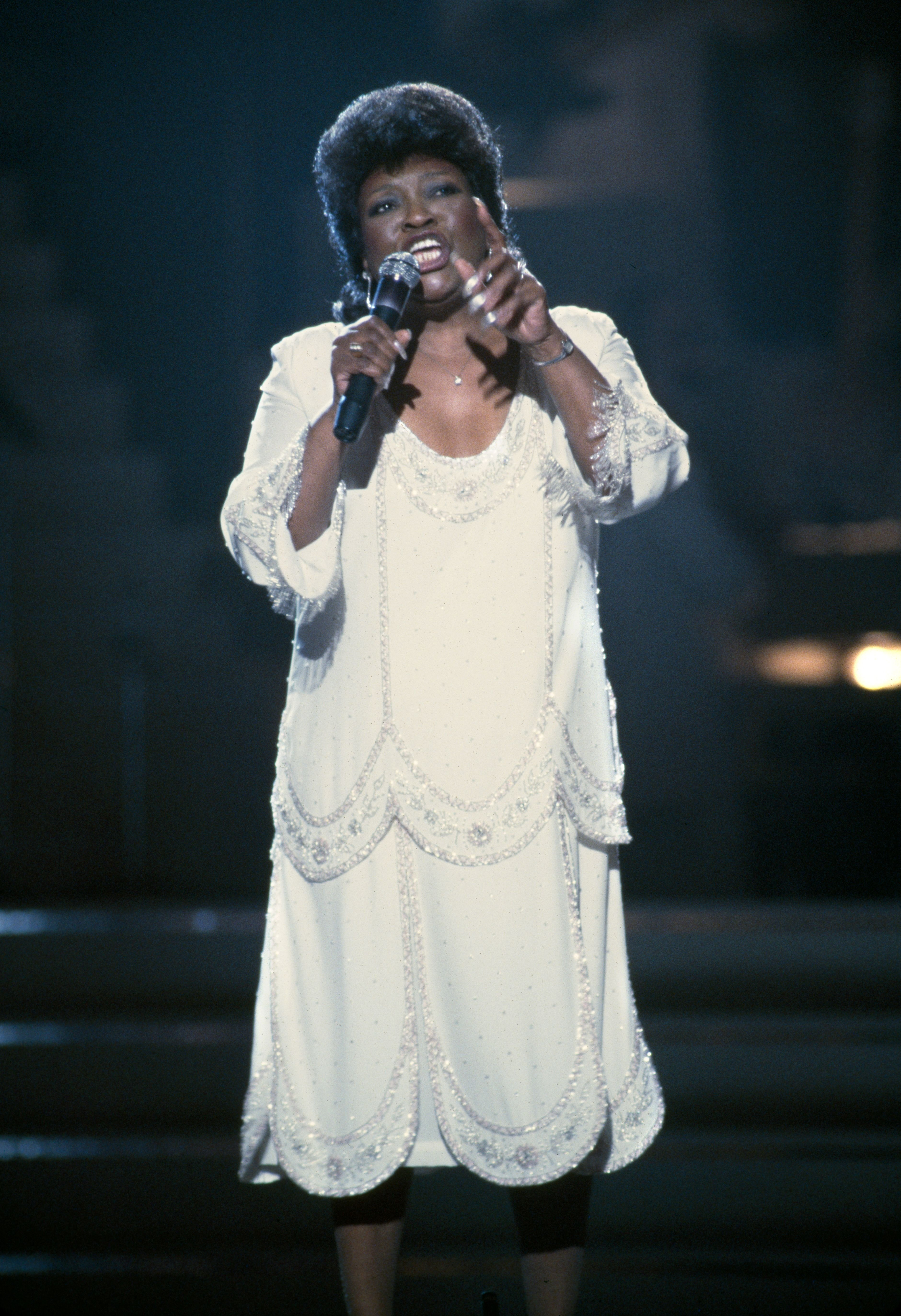 Gospel singer Albertina Walker at the 26th Annual Grammy Awards held on February 28, 1984. | Photo: Getty Images