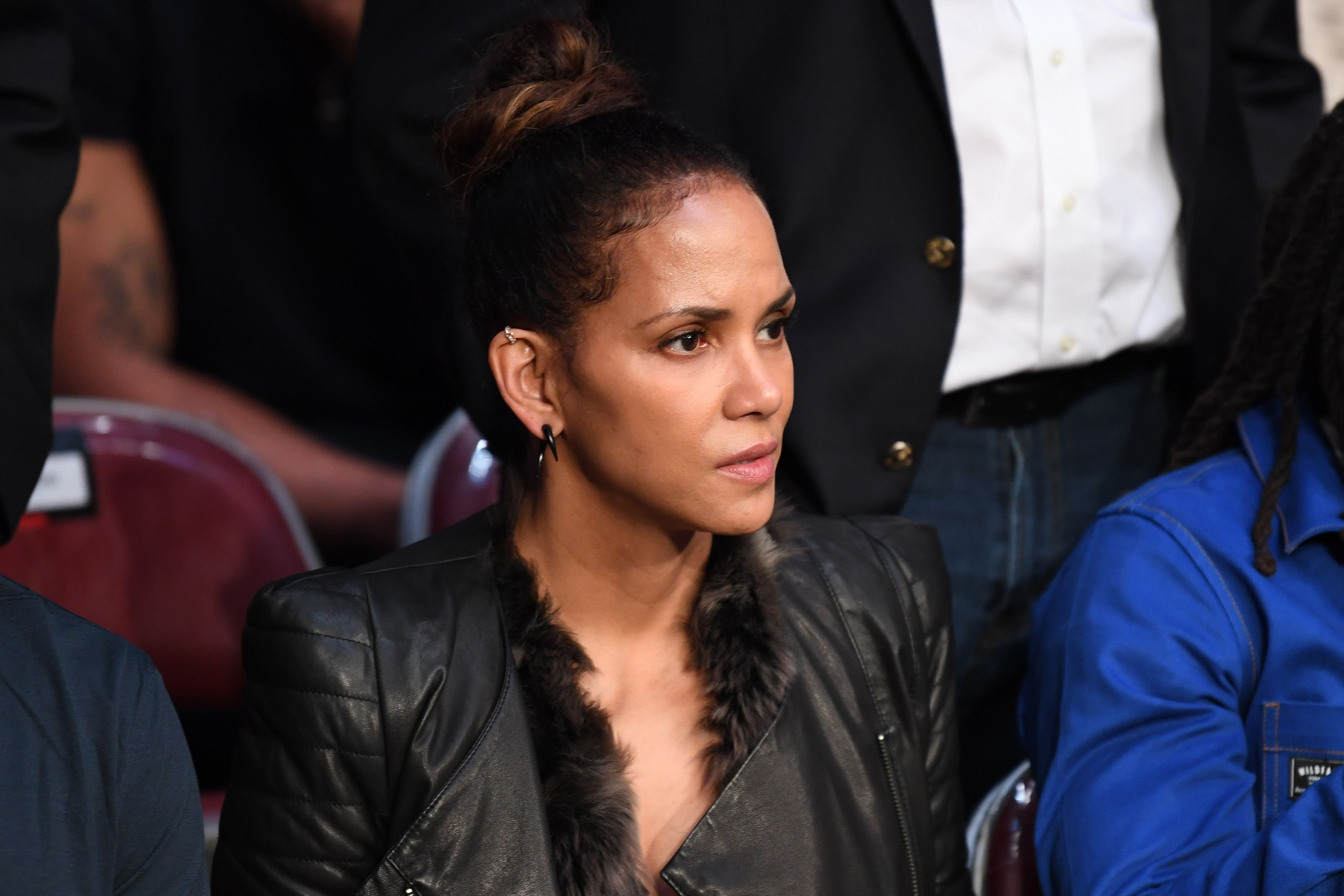 Halle Berry is seen in attendance during the UFC 247 event at Toyota Center on February 08, 2020 in Houston, Texas. | Source: Getty Images