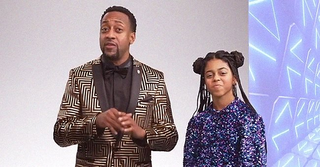 'Family Matters' Star Jaleel White Looks Cool Hosting Show with His Look-Alike Daughter Samaya