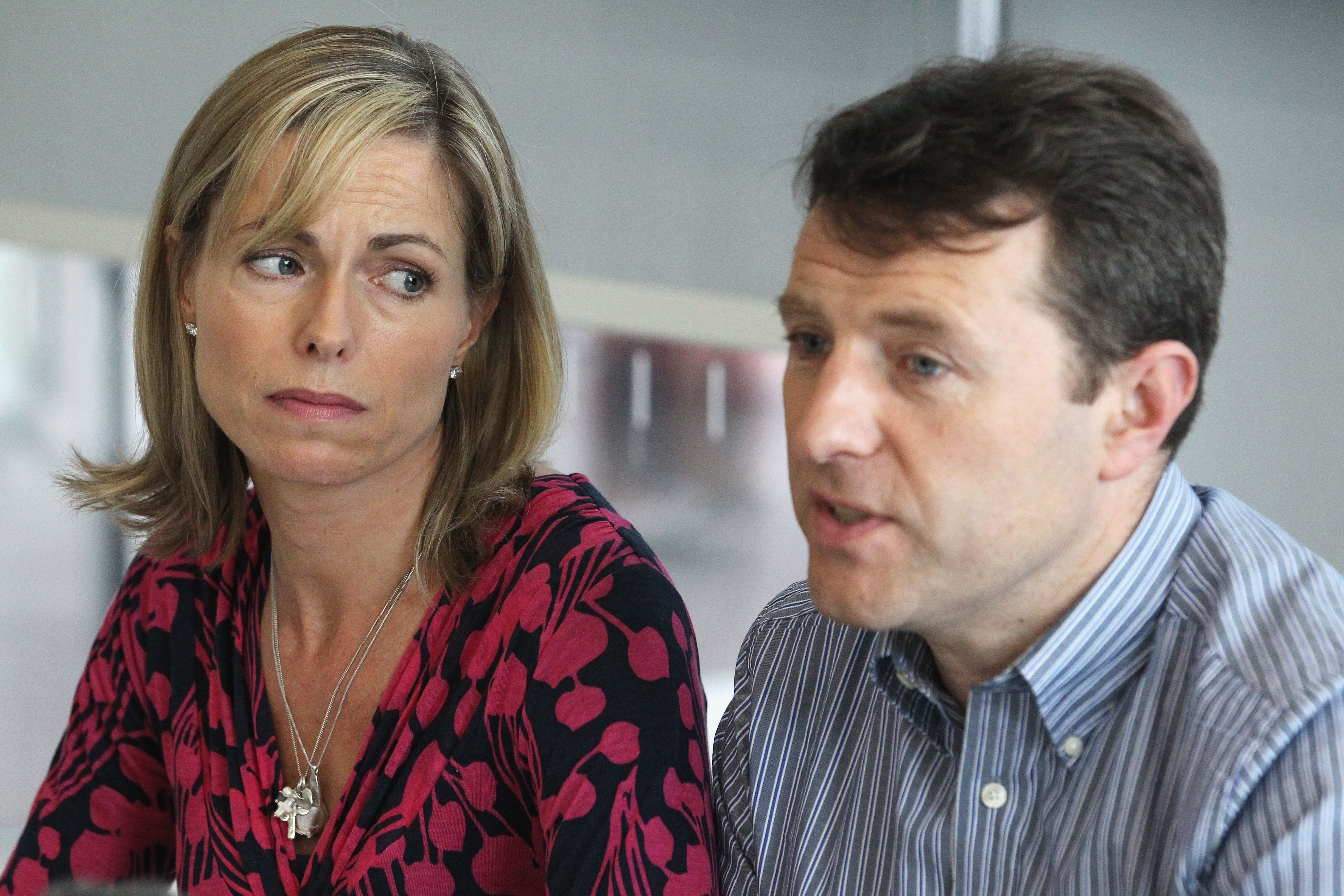 Madeleines Eltern Kate und Gerry McCann | Quelle: Getty Images