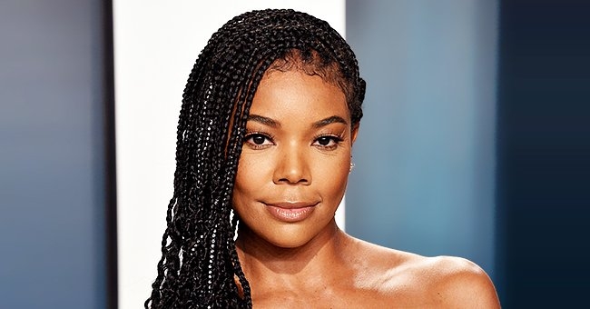 Gabrielle Union's Daughter Kaavia James Strikes Pose in Black and White Jumpsuit in a Cute Photo