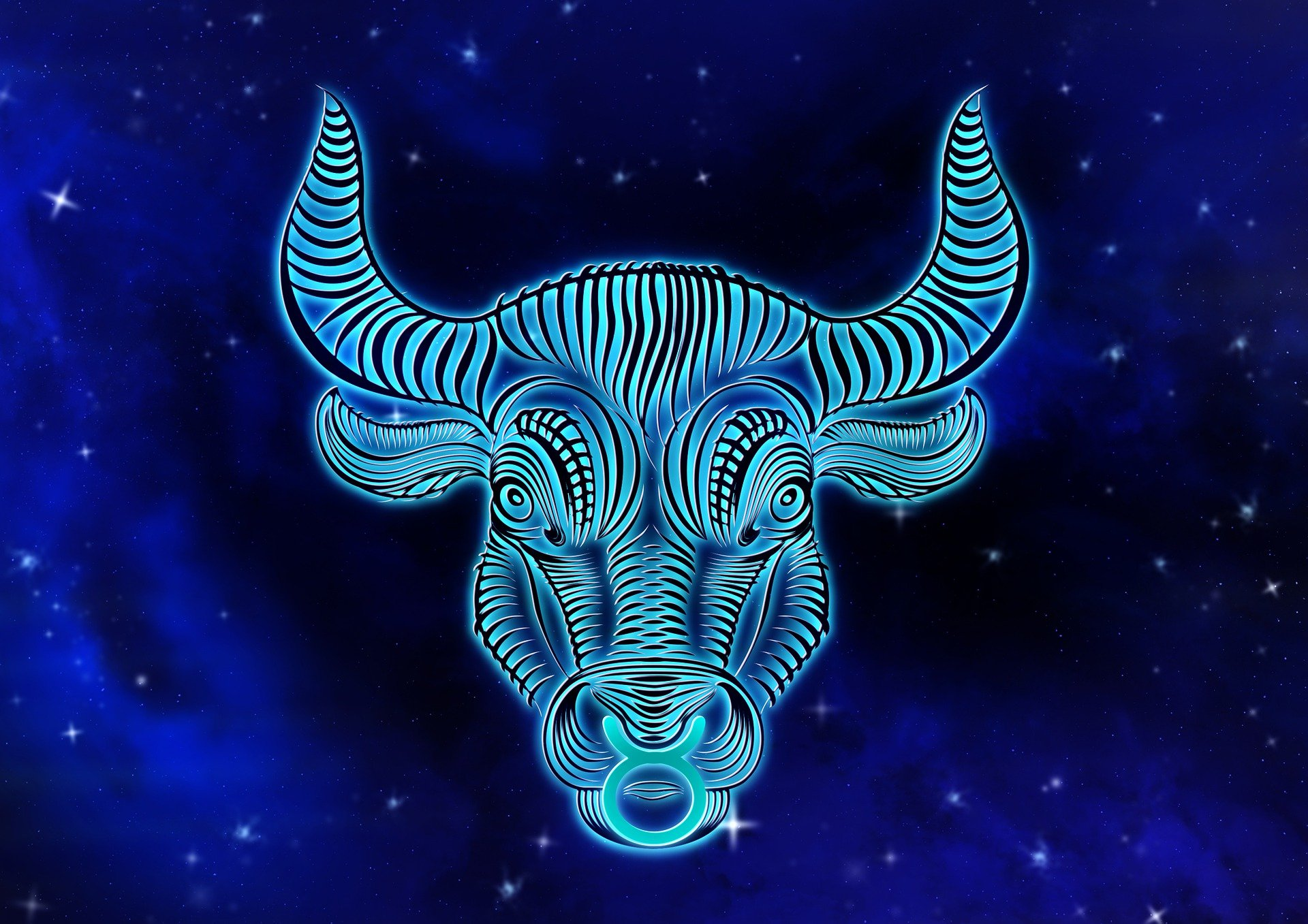 Pictured - A depiction of a Taurus star sign | Source: Pixabay