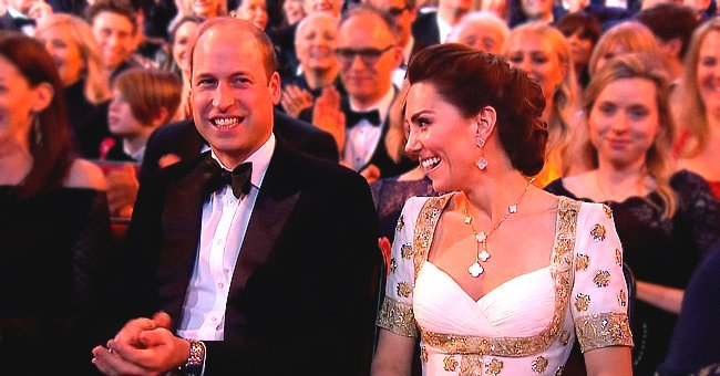 Prince William and Kate Middleton Laugh at Brad Pitt's Awkward Joke about Prince Harry at BAFTAs 2020
