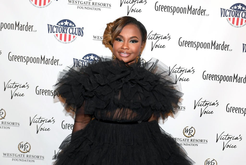 """Phaedra Parks attends """"Victoria's Voice - An Evening to Save Lives"""" presented by the Victoria Siegel Foundation at the Westgate Las Vegas Resort & Casino on October 25, 2019 