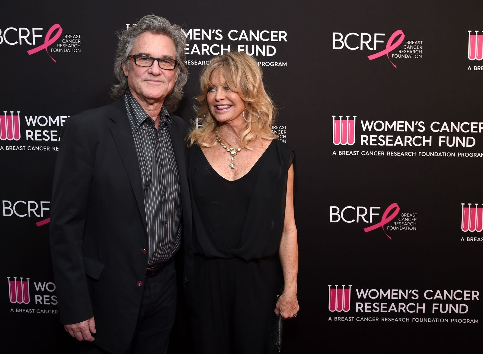 "Kurt Russell and Goldie Hawn at WCRF's ""An Unforgettable Evening"" on February 28, 2019 