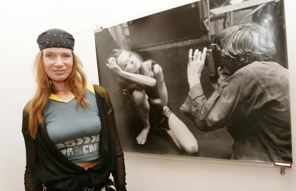 "Veruschka von Lehndorff, ""Blowup"" Photography Exhibition Opening, 2003 