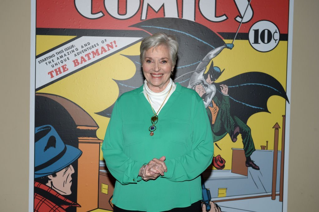 Lee Meriwether attends The Batman Experience powered by AT&T and Comic-Con Museum character Hall Of Fame induction at Comic Con Museum on July 17, 2019   Photo: GettyImages