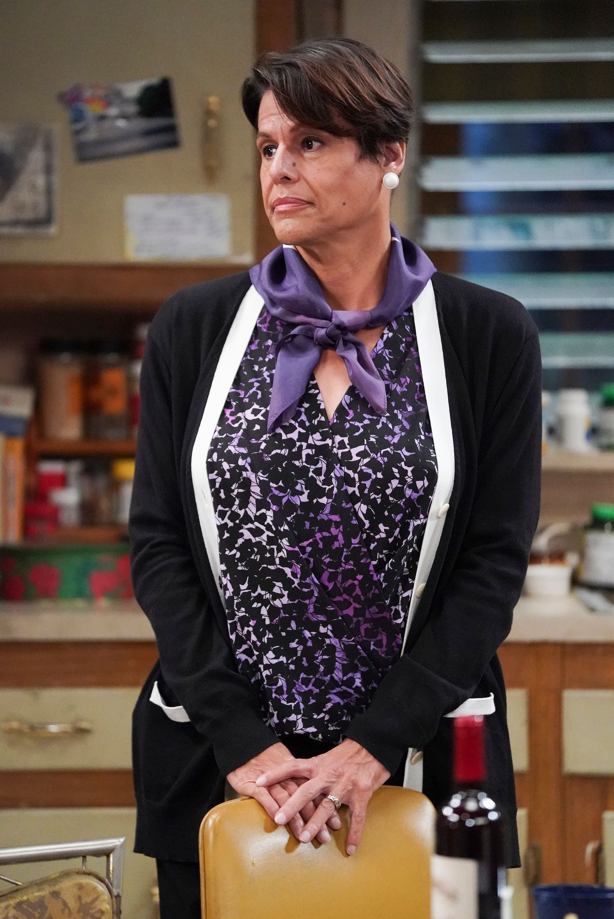 """Alexandra Billings in one of the scenes of ABC's """"The Conners"""" on September 18, 2020 