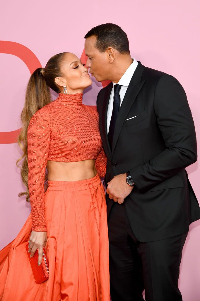 ennifer Lopez and Alex Rodriguez at the CFDA Fashion Awards  on June 03, 2019 | Getty Images