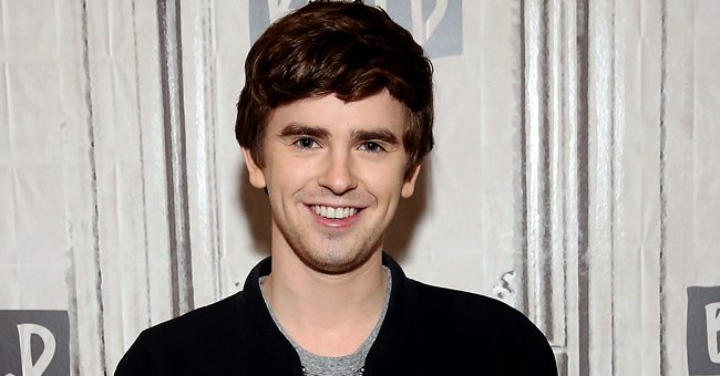 Freddie Highmore during a visit to Build Studio in New York City | Photo: Monica Schipper/Getty Images
