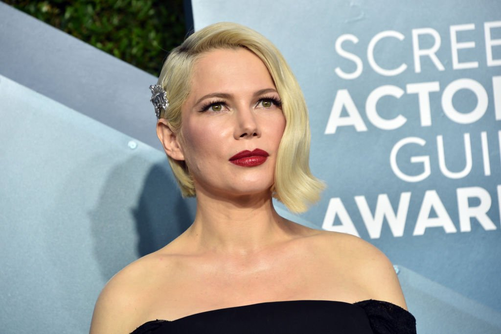 Michelle Williams attends the 26th Annual Screen ActorsGuild Awards at The Shrine Auditorium on January 19, 2020.   Photo: Getty Images