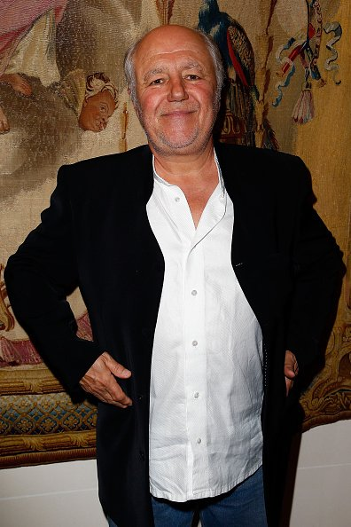"L'acteur Marc Jolivet le ""Prix Bristol Des Lumieres 2015"" à l'Hôtel Le Bristol à Paris le 12 novembre 2015.