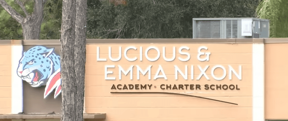 Lucious and Emma Nixon Academy Charter School where Kaia's ordeal took place | Youtube: WKMG News 6 ClickOrlando