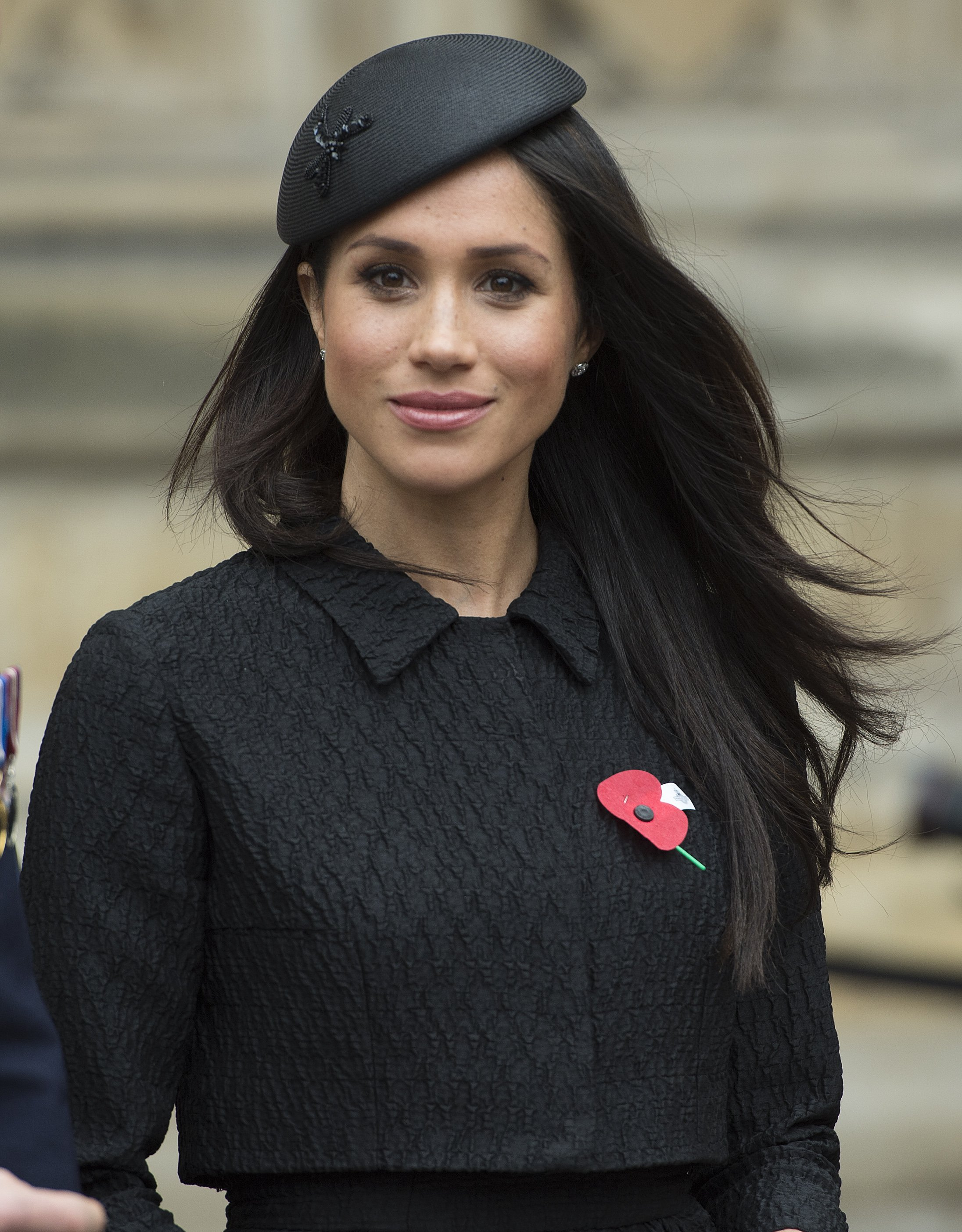 Meghan Markle besucht am 25. April 2018 einen Anzac Day-Gottesdienst in der Westminster Abbey in London, England | Quelle: Getty Images