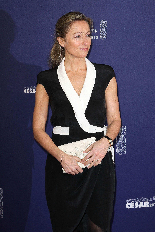 La présentatrice Anne-Sophie Lapix. l Source : Getty Images