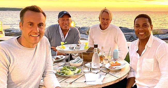 CNN's Don Lemon & Fiance Tim Malone's Stunning Sunset Dinner Date with Their Friends (Photo)
