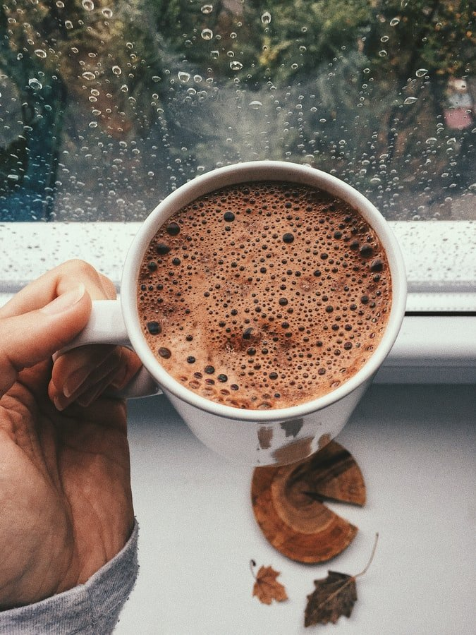 A cup of hot chocolate   Source: Unsplash