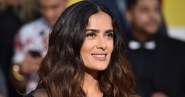 Here's the Move Salma Hayek Jokingly Revealed She Learned from Her Dogs — Watch the Video