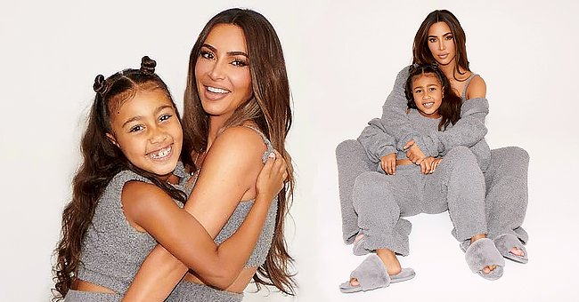 Kim Kardashian Poses with Daughters Chicago & North as She Launches 1st SKIMS Line for Kids