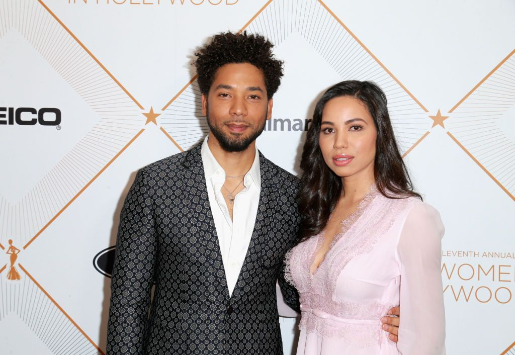 Jurnee Smollet-Bell and Jussie Smollett at the ESSENCE Eleventh Annual Black Women in Hollywood Event on March 1, 2018 at the Beverly Wilshire Hotel in Beverly Hills, California   Source: Getty Images