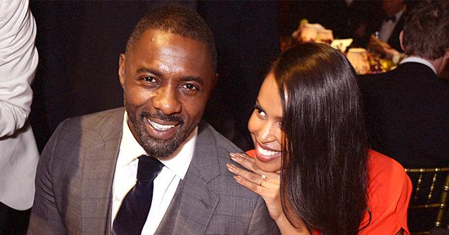 Newlyweds Idris Elba and wife Sabrina dress up in traditional Somali attire