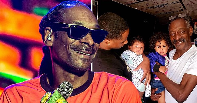 Snoop Dogg's Look-Alike Dad Vernell Flashes a Smile in a Pic with His Grandson and 2 Great-Granddaughters