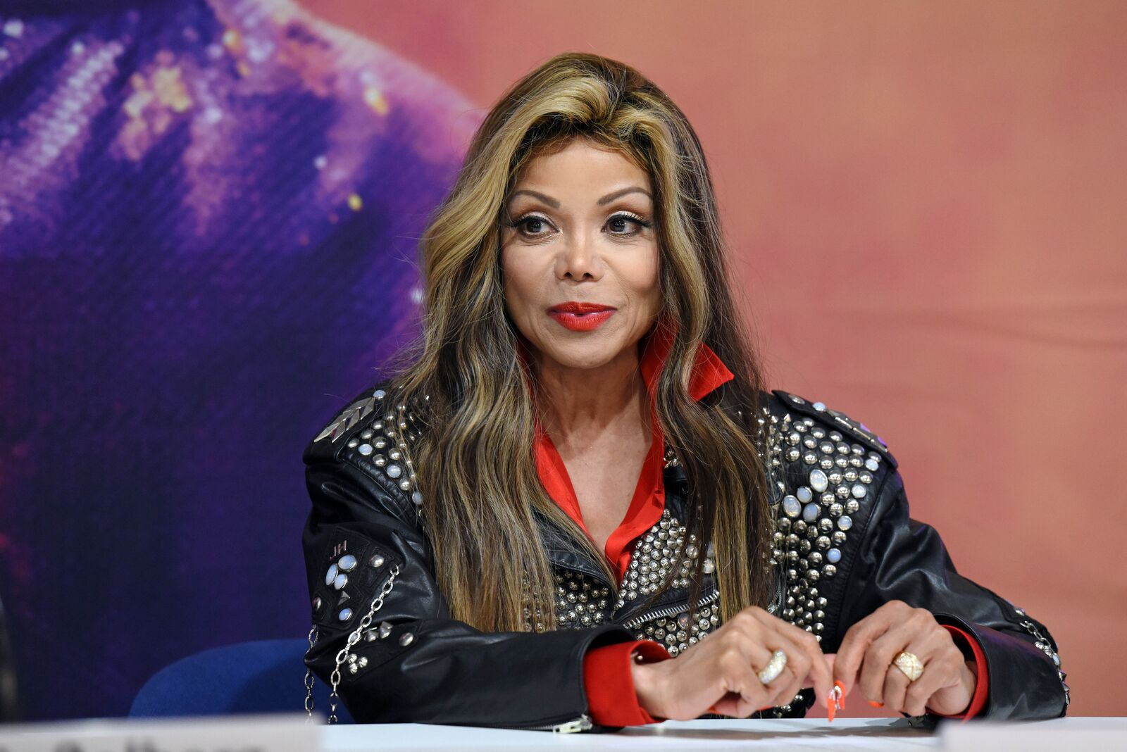 US singer La Toya Jackson attends a press conference to present the 'Forever - King Of Pop' show on October 22, 2018 | Photo: Getty Images