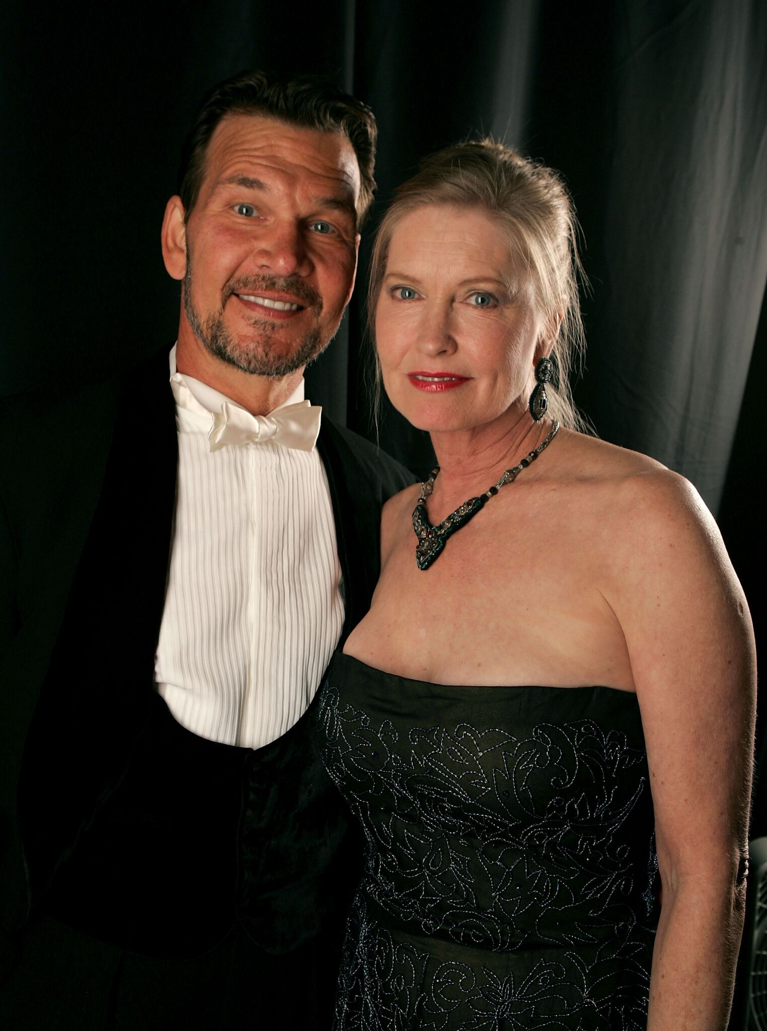 Patrick Swayze and wife Lisa Niemi at the 9th annual Costume Designers Guild Awards in 2007 | Getty Images