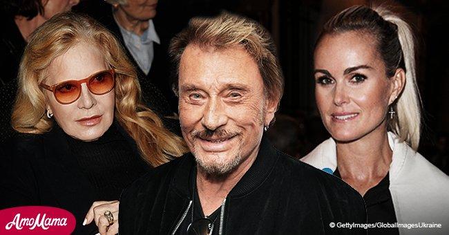 Sylvie Vartan n'arrive pas à garder son calme sur l'héritage de Johnny à cause de leurs droits de coédition