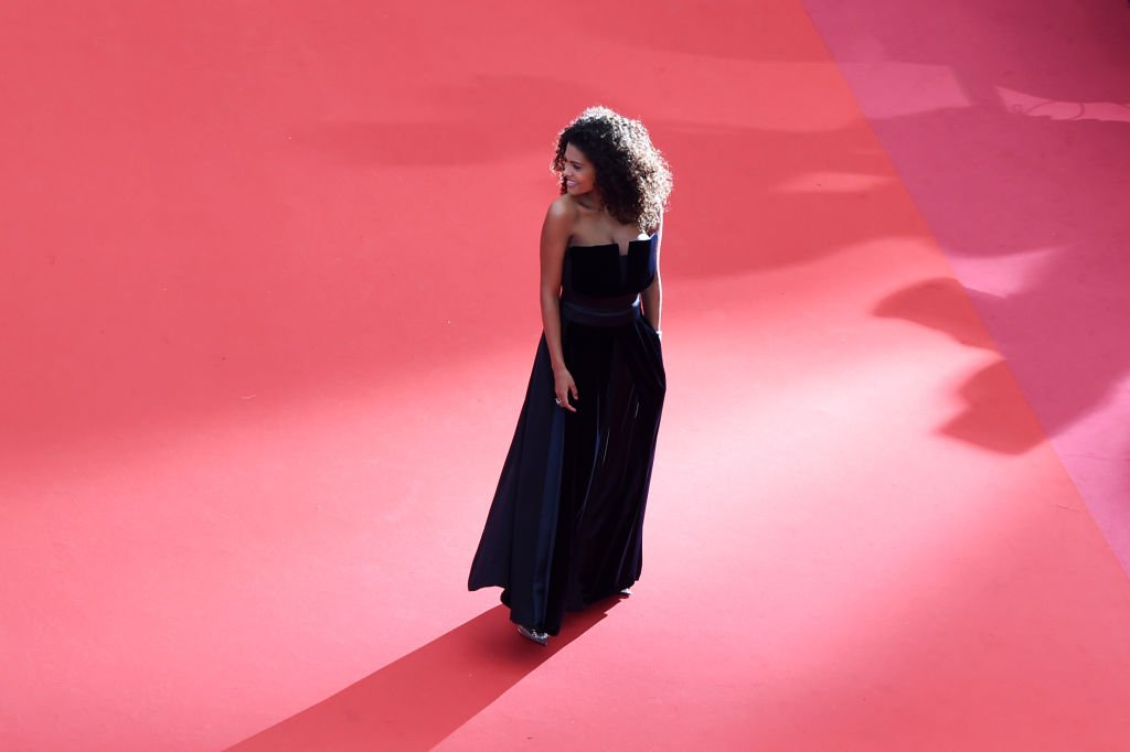 Tina Kunakey au Festival de Cannes en 2019. l Source : Getty Images