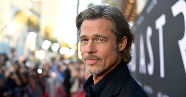 """Brad Pitt at the premiere of 20th Century Fox's """"Ad Astra"""" at The Cinerama Dome in Los Angeles, California   Photo: Matt Winkelmeyer/Getty Images"""