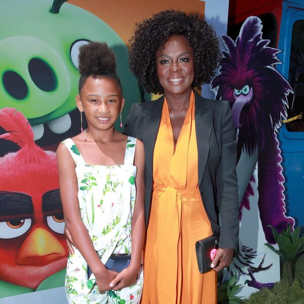 Viola and Genesis at the Angry Birds movie premiere. | Source: Getty Images / GlobalImagesUkraine