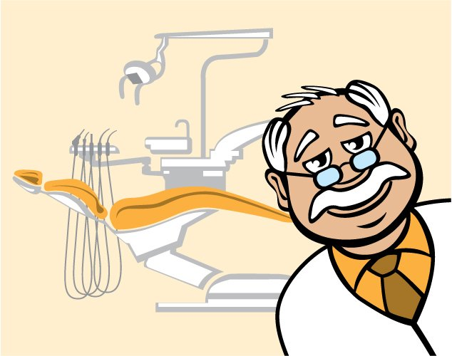 Dentist at his office. | Source: Shutterstock