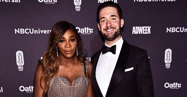 Serena Williams' Husband Is 'Getting Better' at Doing Daughter Olympia's Hair (Photos)