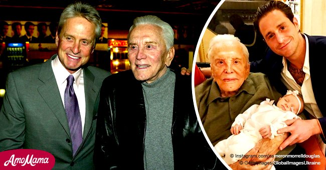 Now in his 40s, Kirk Douglas' grandson looks so similar to him and his son Michael Douglas