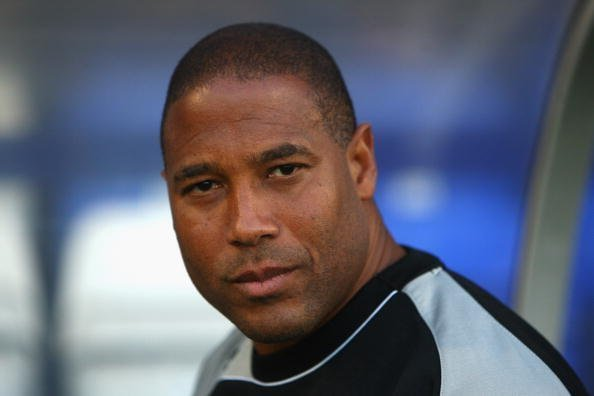 John Barnes prior to the Carling Cup second round match at Prenton Park on August 25, 2009, in Birkenhead, England.| Photo: Getty Images
