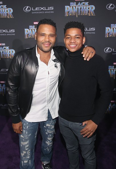 Anthony Anderson and Nathan Anderson at Dolby Theatre on January 29, 2018 in Hollywood, California. | Photo: Getty Images