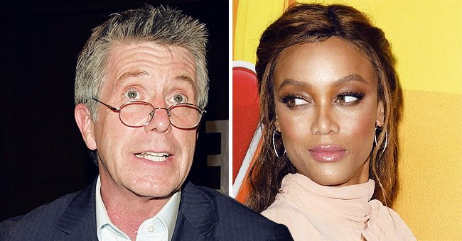 How Tom Bergeron Reacted to Tyra Banks as the New 'Dancing with the Stars' Host