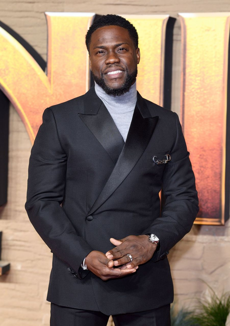"Kevin Hart attends the ""Jumanji: The Next Level"" UK Film Premiere at BFI Southbank on December 05, 2019 in London, England. 