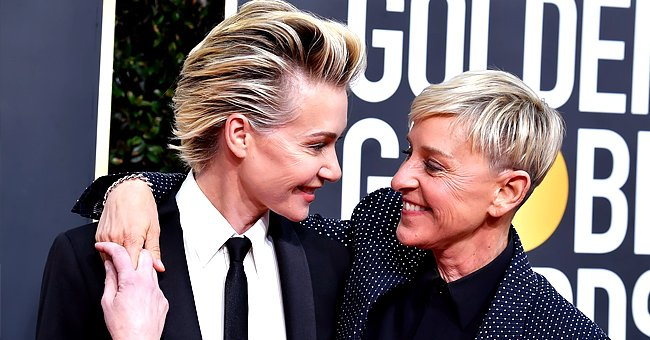 Portia de Rossi Looks Back at When She Saw Her Wife Ellen DeGeneres for the First Time