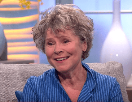 Imelda Staunton talks about being married to Jim Carter. | Source: YouTube.com/Lorraine