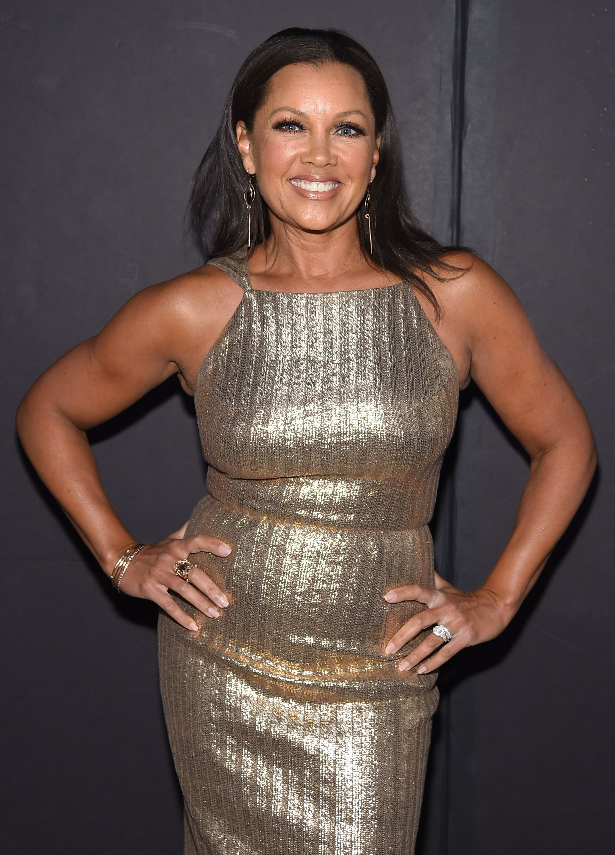 Vanessa Williams at the Christian Siriano fashion show on September 9, 2017 in New York. │Photo: Getty Images