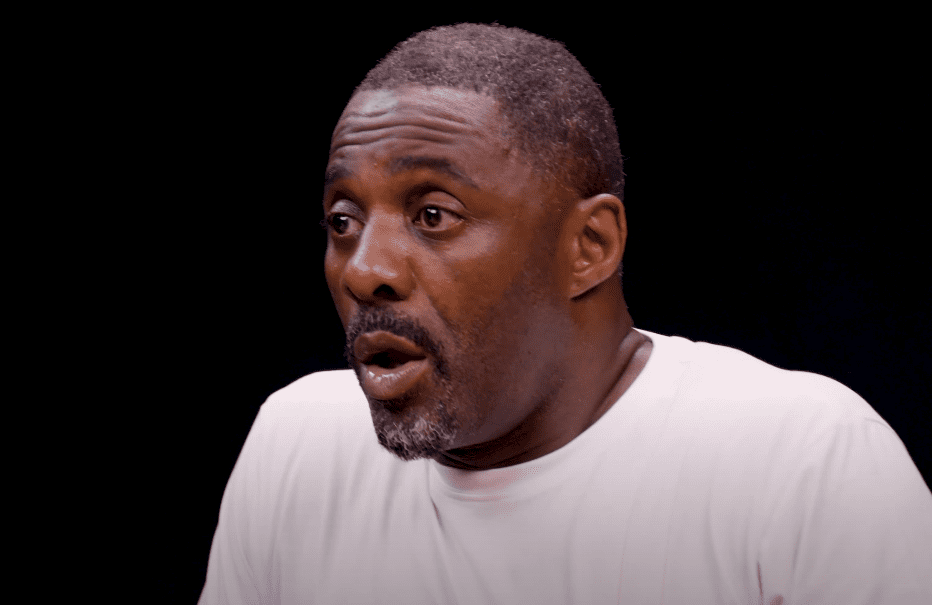 A picture of Idris Elba at an Interview | Photo : Youtube/FirstWeFeast