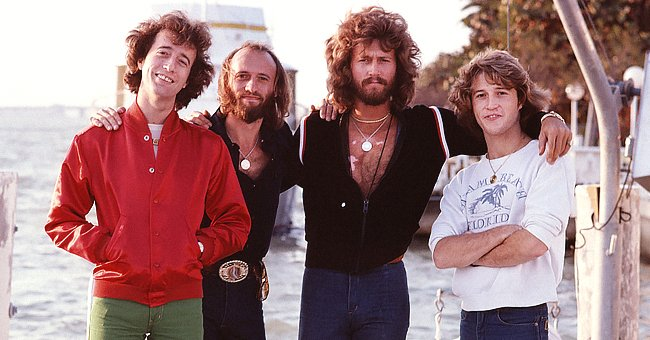 Barry Gibb and Other Members of Pop Group 'Bee Gees' after Worldwide Fame