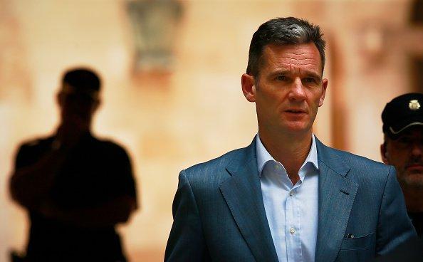 Inaki Urdangarin deja el juzgado el 13 de junio de 2018 en Palma de Mallorca, España. Fuente: Getty Images