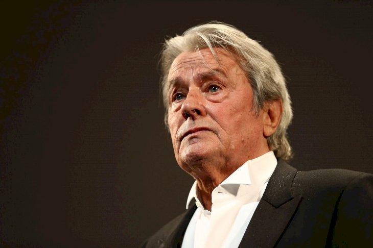 L'incontournable Alain Delon. l Source: Getty Images