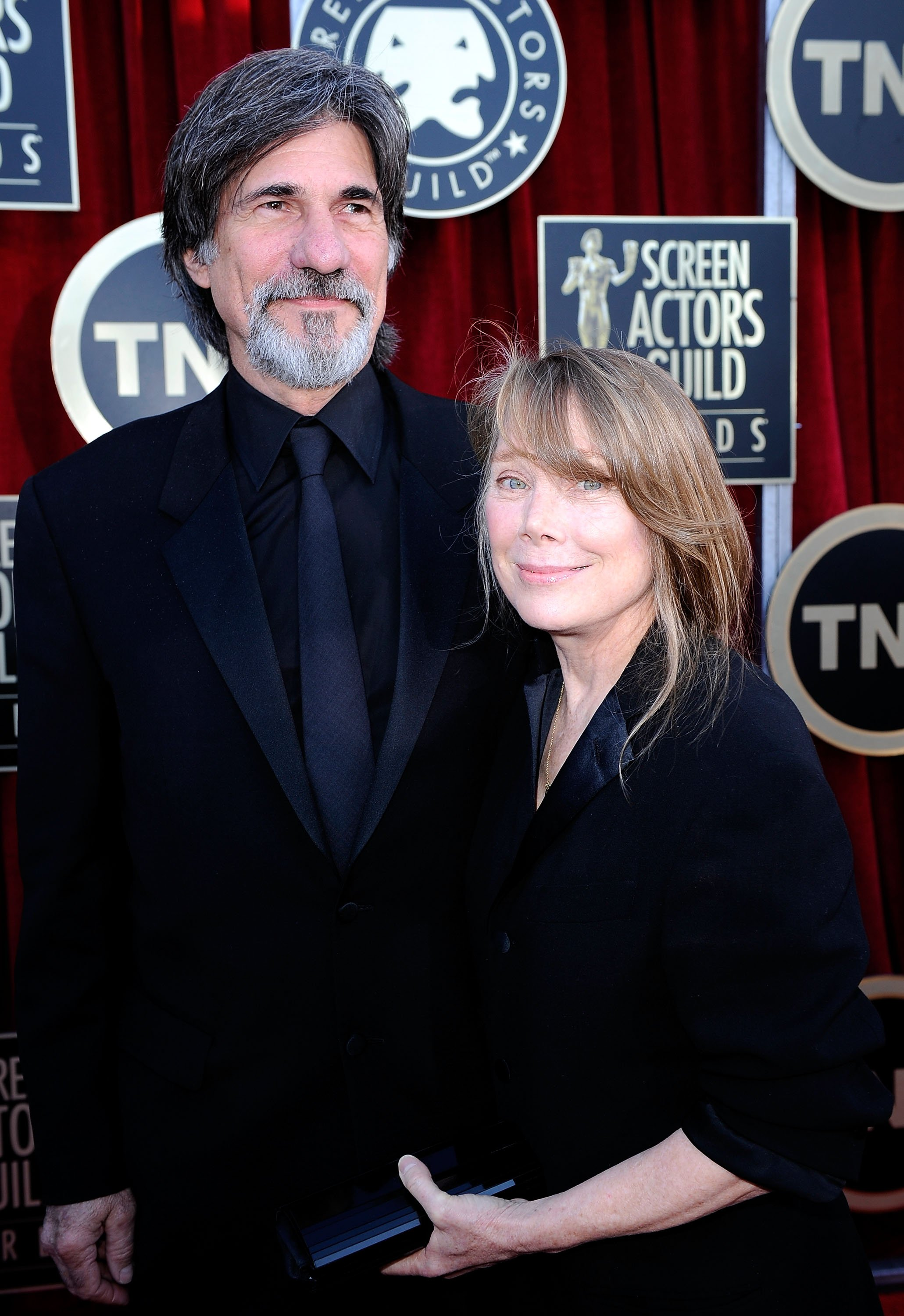 Sissy Spacek and Jack Fisk arrive at the 18th Annual Screen Actors Guild Awards at The Shrine Auditorium on January 29, 2012, in Los Angeles, California. | Source: Getty Images.
