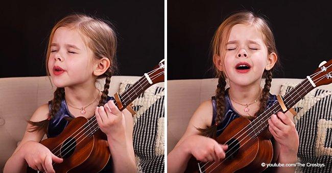 Cette fillette de 6 ans impressionne par sa voix et donne la chair de poule aux gens grâce à son chant magnifique